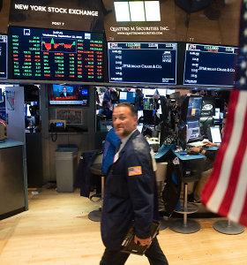 JAV akcijų indeksai siekia vis naujų rekordų