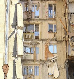 Rusų tyrėjai: Magnitogorske sprogimo apgriauto pastato griuvėsiuose sprogmenų nerasta