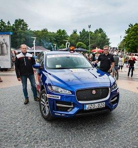 """""""Eneos 1006 km lenktynių"""" išvakarėse – naktinis išbandymas su """"Jaguar F-Pace"""""""