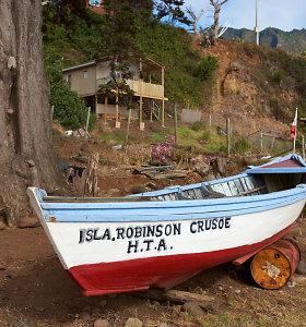 Robinzonui Kruzui – 300 metų: pamatykite, kaip Robinzono Kruzo sala atrodo dabar