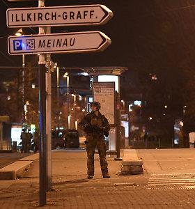 Strasbūro šaulio ieškanti prancūzų policija sulaikė penkis žmones