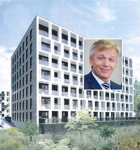 """""""Hanner"""" nusileido gyventojams: projektuoja žemesnius daugiabučius greta buvusio """"Žalgirio"""" stadiono"""