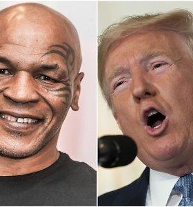 Donaldui Trumpui paliko įspūdį atgijusio Mike'o Tysono sportinė forma