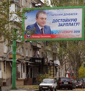 Rinkimų šou Donbase: rinkėjai balsuos vedami baimės, Rusijos galingieji dalijasi įtakos zonas