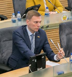 """""""Tvarkiečių"""" atskalūnų frakcija – be M.Puidoko: """"R.Karbauskiui asmeniškumai svarbiau nei stabilumas"""""""