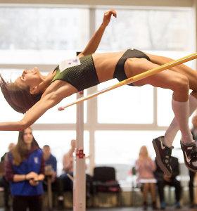 Pasaulio čempionato normatyvą pasiekusi Airinė Palšytė šturmavo rekordinį – 202 cm aukštį