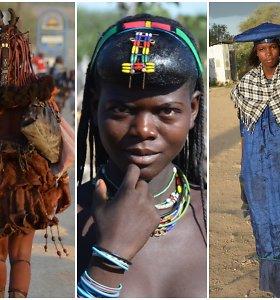 Gilyn į Namibiją: viena už kitą margesnės gentys ir kaimas, kuriame buvau pirmasis baltaodis