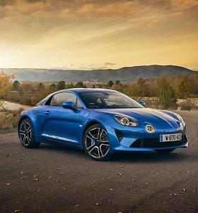 """""""Top Gear"""" išrinko 2018 metų sportiškiausią automobilį: apdovanotas """"Alpine A110"""" modelis"""
