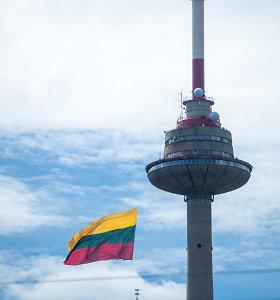 Valstybės atkūrimo dienai artėjant, Vilniaus TV bokšte suplevėsuos milžiniška trispalvė