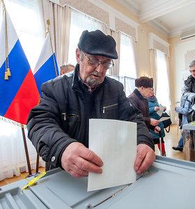 Baltijos šalyse triuškinama dauguma Rusijos piliečių balsavo už Vladimirą Putiną