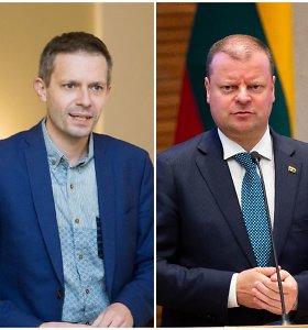 Teismas nagrinės A.Tapino skundą dėl Seimo komisijos sprendimo netirti S.Skvernelio teiginių
