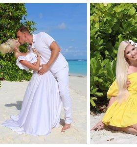 """Inga ir Aivaras Stumbrai Maldyvuose atšventė 15-ąsias vestuvių metines: """"Svarbiausia – nuoširdi meilė"""""""