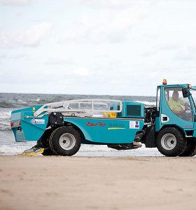 Palangos ir Šventosios paplūdimius valys naujas automobilis