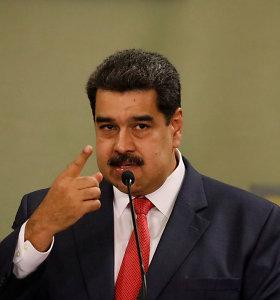 Venesuelos ir JAV vadovų konfrontacija tęsiasi: N.Maduro išvadino D.Trumpą naciu