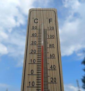 Kai kuriose Lietuvos vietose antradienį vėl fiksuoti karščio rekordai