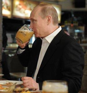 Į dėmesio medžioklę pasikinkė V.Putiną ir alkoholio draudimus