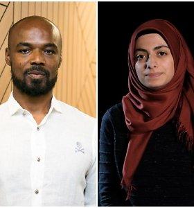 15min eksperimentas: kaip juodaodis, musulmonė ir romė buto ieškojo