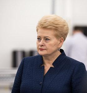 D.Grybauskaitė: laisvas žodis yra ginklas, kuriuo giname visų mūsų demokratines teises