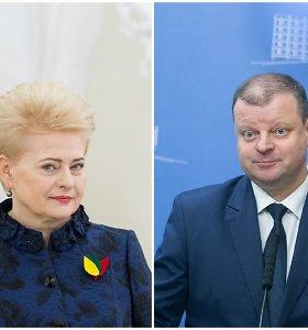 D.Grybauskaitės turtas per metus sumenko beveik 300 tūkst. eurų, turtingesnis netapo ir S.Skvernelis