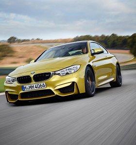 Nutekėjo pirmosios oficialios BMW M3 ir M4 nuotraukos