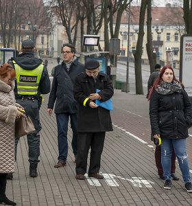 Policija primena: tamsiuoju paros metu atšvaitas yra būtinas