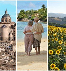 Geriausios atostogų kryptys vyresniems žmonėms