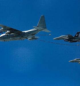 JAV kariškiai paskelbė per karo lėktuvų susidūrimą prie Japonijos žuvusių karių pavardes