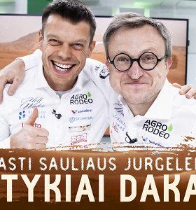 """Speciali laida: """"Nepaprasti Sauliaus Jurgelėno nuotykiai Dakare"""""""