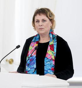 Į kultūros viceministres svarstoma siūlyti nacionalinės premijos laureatę Z.Bružaitę