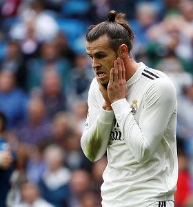 G.Bale'o drama Madride tęsiasi: vietoje treniruočių pasirinko golfo laukus?