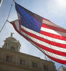 JAV lapkritį registruotas smarkus samdymo apimčių kritimas privačiame sektoriuje