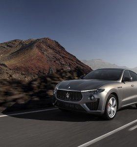 """""""Maserati"""" pristato 150 išskirtinių """"Levante Vulcano"""" visureigių: įspūdinga galia ir stabdžiai"""