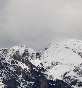 Italijoje nuslinkus sniego lavinai žuvo slidininkas – ketvirta auka per 24 valandas