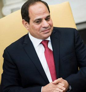 Egiptas ir Izraelis drauge kovoja prieš islamistus Sinajuje, sako prezidentas A.F.al Sisi