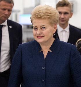 D.Grybauskaitė Niujorke vadovaus JT diskusijai apie moterų vaidmenį ekonomikoje