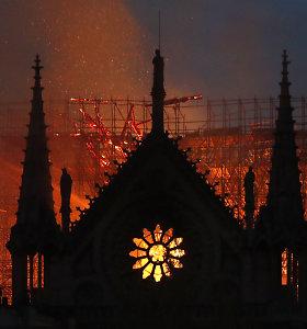 Teritorija aplink Paryžiaus Dievo Motinos katedrą smarkiai užteršta švinu. Kodėl?