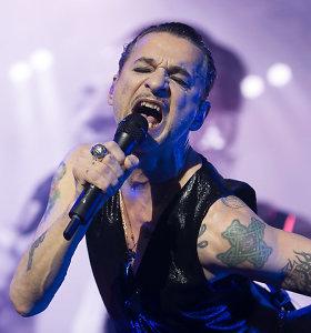 """""""Depeche Mode"""" koncertu Vilniuje pristatė albumą """"Spirit"""""""