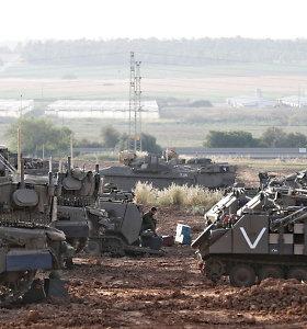 Per susirėmimus pasienyje nuo Izraelio ugnies žuvo palestinietis