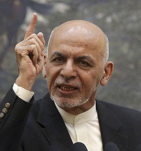 Afganistano prezidentas žada paleisti apie 900 kalinių