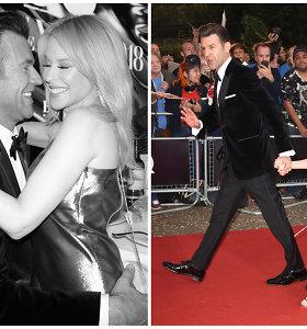 Kylie Minogue oficialiai pristatė savo naują draugą: kartu žengė raudonuoju kilimu
