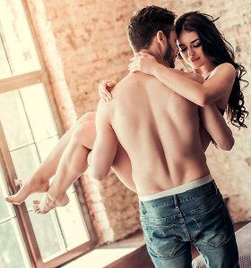 Ar daugiau sekso vyrui atneša daugiau laimės?