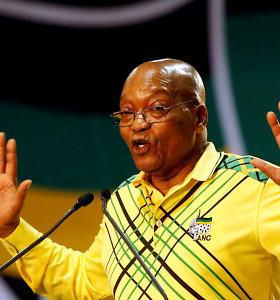 Buvęs PAR prezidentas J.Zuma skundžia sprendimą jį teisti