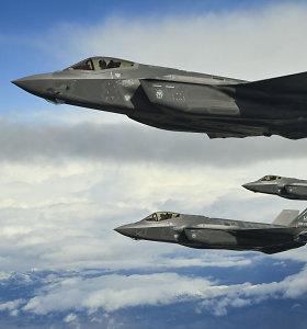 Turkijai įsigijus rusiškų gynybos raketų sistemų, JAV užblokavo jos dalyvavimą naikintuvų F-35 programoje