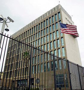 JAV aukšto rango diplomatai tiria naujausias garsines atakas Kuboje