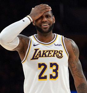 """Naujos NCAA taisyklės supykdė LeBroną Jamesą: """"Jie bijo"""""""