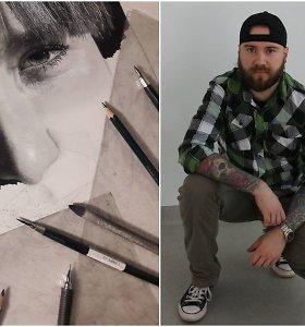 """Savamokslio Tomo realistiški piešiniai įvertinti pasauliniame konkurse: """"Noriu nupiešti geriau nei nuotrauka"""""""