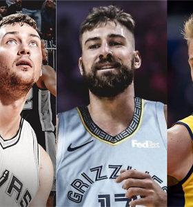 Testas: ar prisiminsite, kurie lietuviai buvo pašaukti NBA naujokų biržoje?