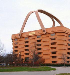 Keisčiausios formos biurų pastatas pasaulyje netrukus virs prabangiu viešbučiu