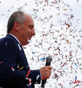 Turkijos opozicijos kandidatas metė iššūkį prezidentui R.T.Erdoganui