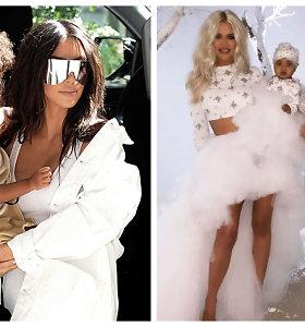 Brangiausi ir keisčiausi Kardashianų klano pirkiniai vaikams: nuo kailinių iki išnuomoto Disneilendo